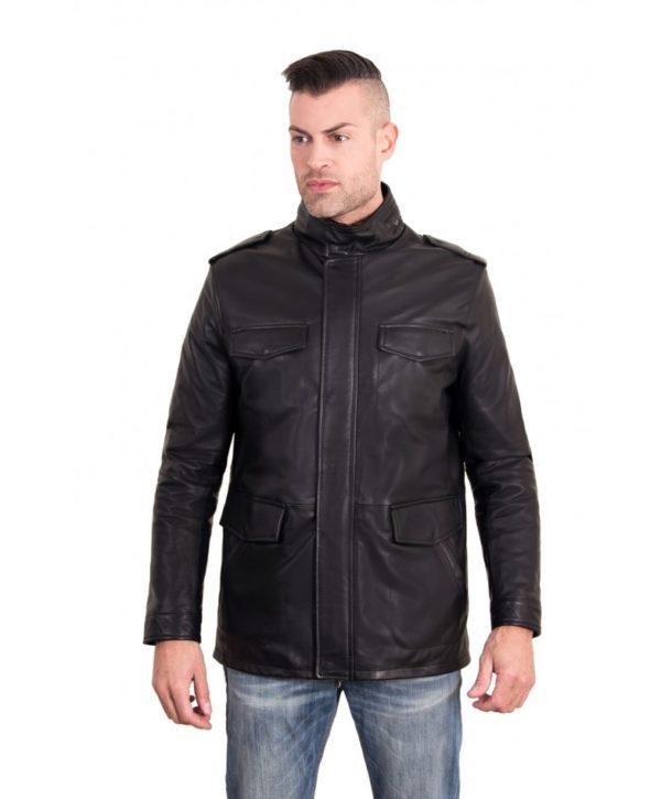 best-black-color-nappa-lamb-leather-jacket-4-pockets