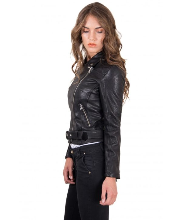 chiodo-in-pelle-da-donna-modello-biker-con-cintura-colore-nero-raggrinzito-chiodo-perfecto-collezione-donna-autunno-inverno- (2)