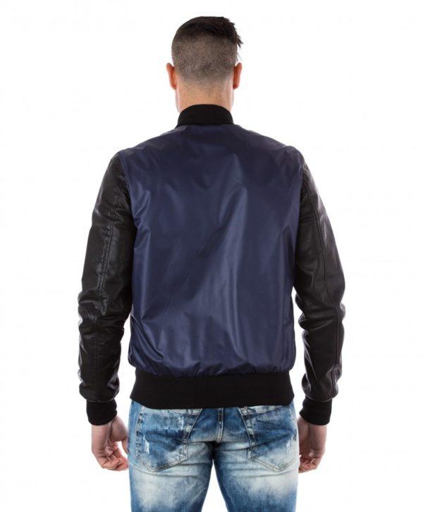 Black Lamb Leather Bomber Jacket