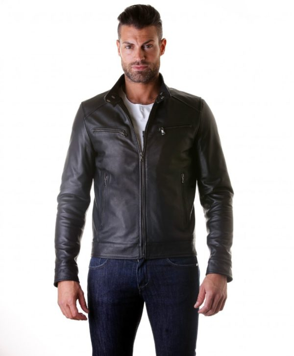 men-s-leather-jacket-genuine-soft-leather-biker-mao-collar-mao-black-color-hamilton (3)