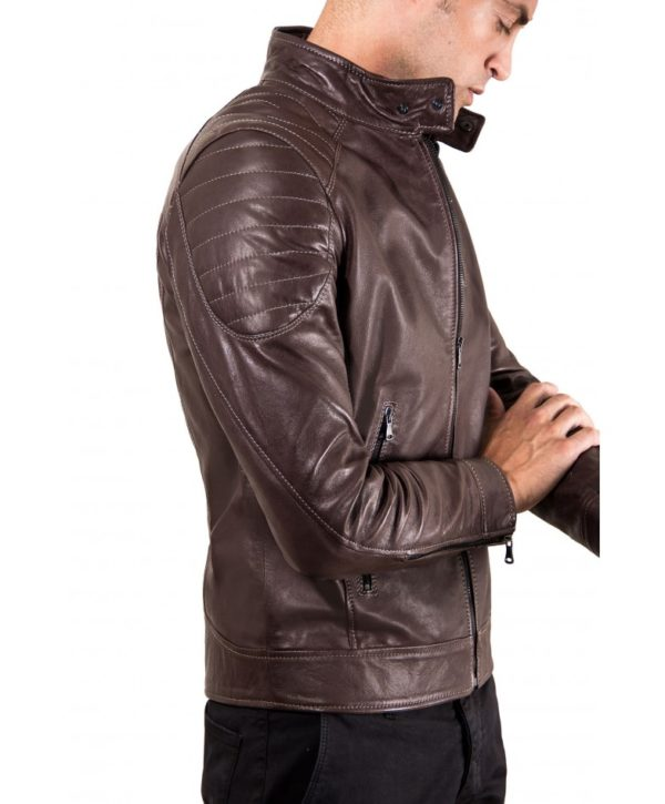 men-s-leather-jacket-genuine-soft-leather-biker-quilted-yoke-dark-brown-color-u411 (1)