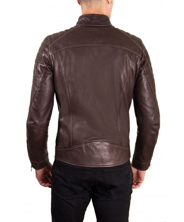men-s-leather-jacket-genuine-soft-leather-biker-quilted-yoke-dark-brown-color-u411 (3)
