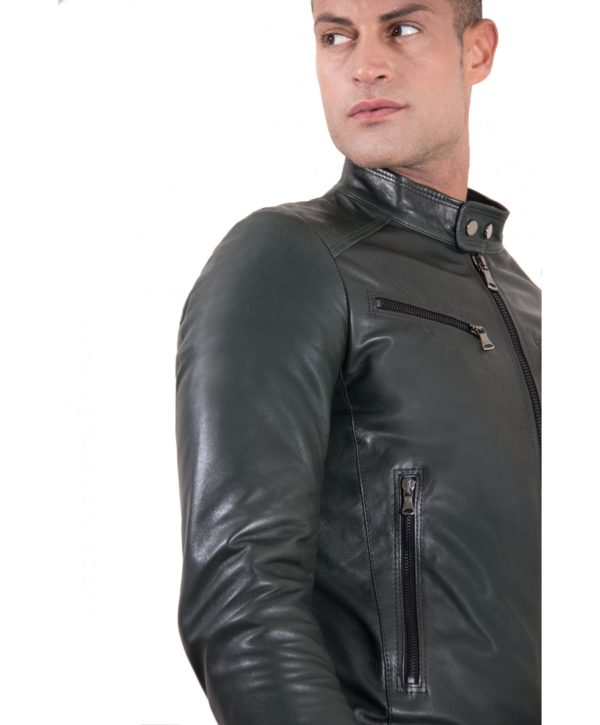 men-s-leather-jacket-korean-collar-four-pockets-green-color-hamilton (1)
