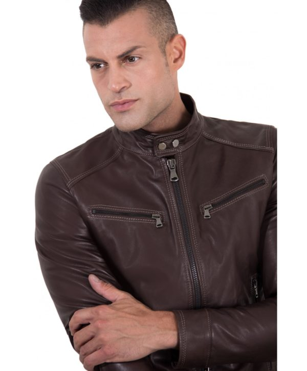 men-s-leather-jacket-korean-collar-pockets-brown-color-hamilton