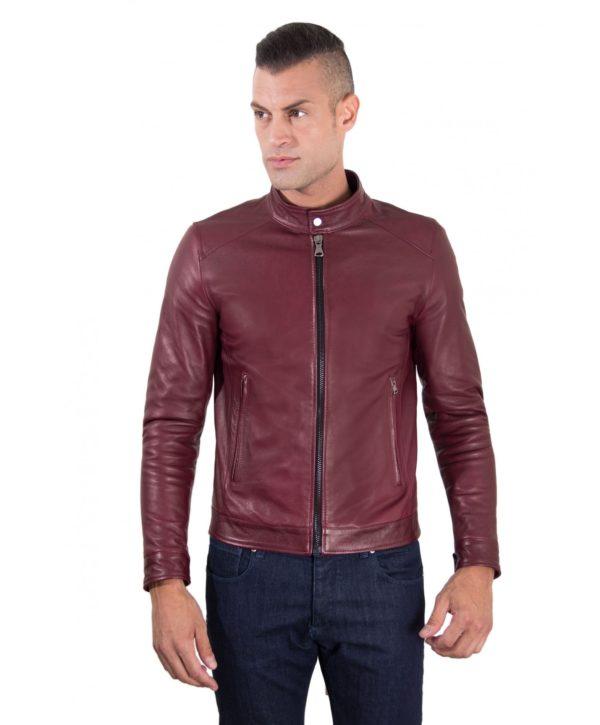 men-s-leather-jacket-korean-collar-two-pockets-red-purple-color-hamilton