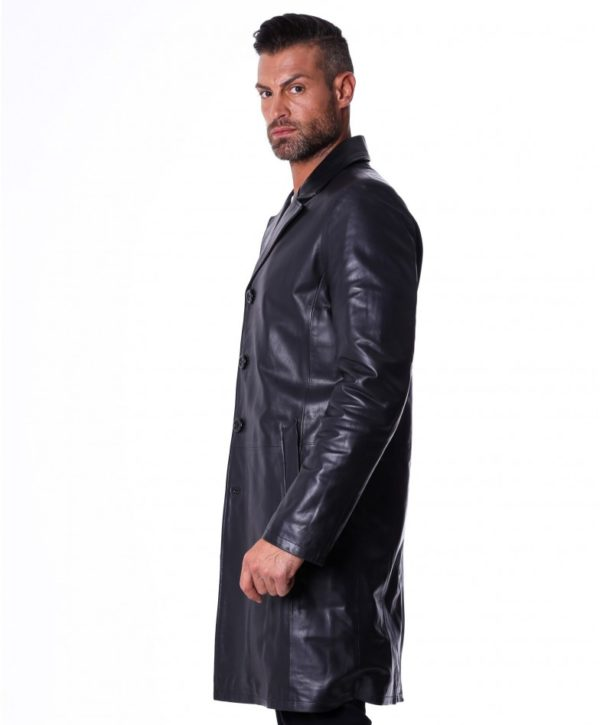 men-s-long-leather-jacket-genuine-soft-leather-2-pockets-buttons-closing-black-color-mod-032-matrix (2)