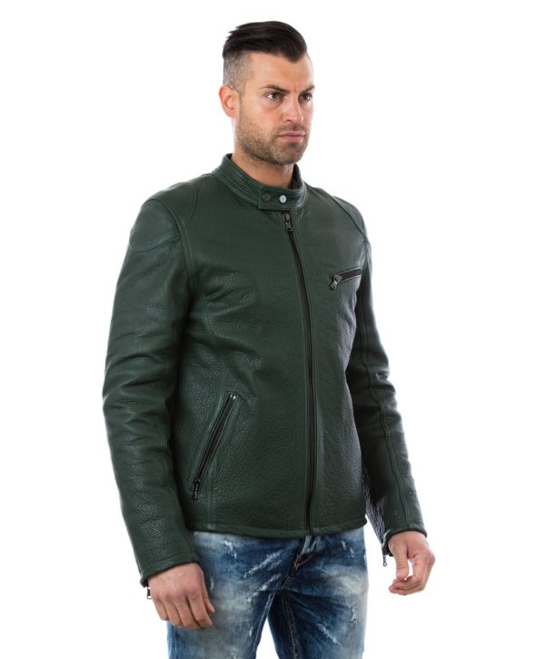 calf-leather-jacket-biker-green-color-762 (2)