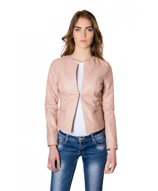 clear-powder-color-lamb-leather-round-neck-jacket