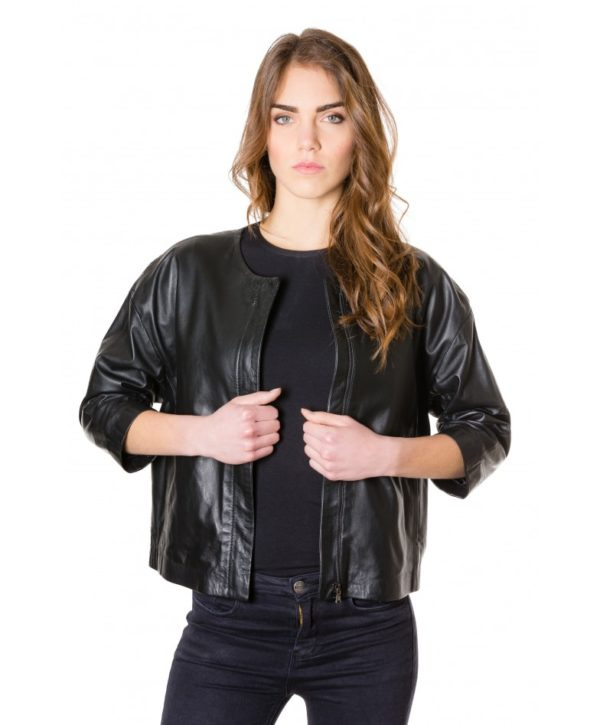 debo-black-colour-woman-lamb-leather-jacket-smooth-effect (2)