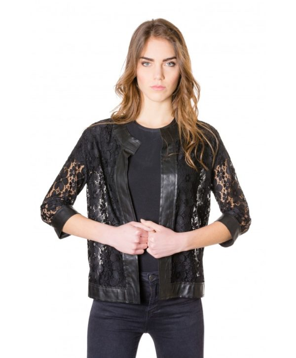 emma-pizzo-black-colour-woman-lace-jacket-with-leather-edges (2)