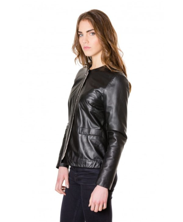 f102-black-colour-woman-lamb-leather-jacket-smooth-effect (1)