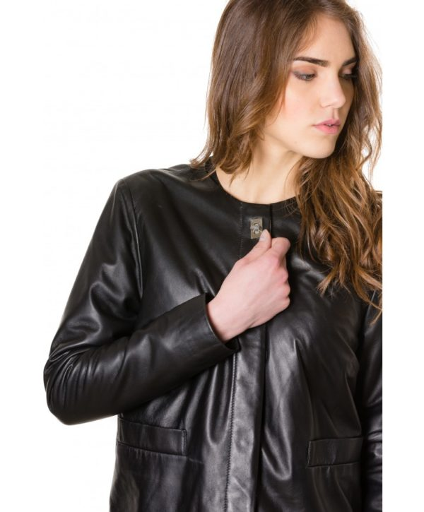 f102-black-colour-woman-lamb-leather-jacket-smooth-effect (2)