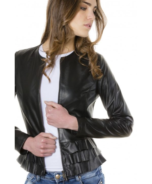 f105bl-black-color-nappa-lamb-leather-jacket-with-flounces (2)