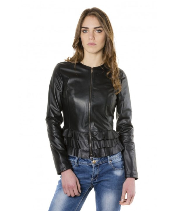 f105bl-black-color-nappa-lamb-leather-jacket-with-flounces
