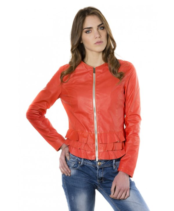 f105bl-coral-color-lamb-leather-jacke (3)