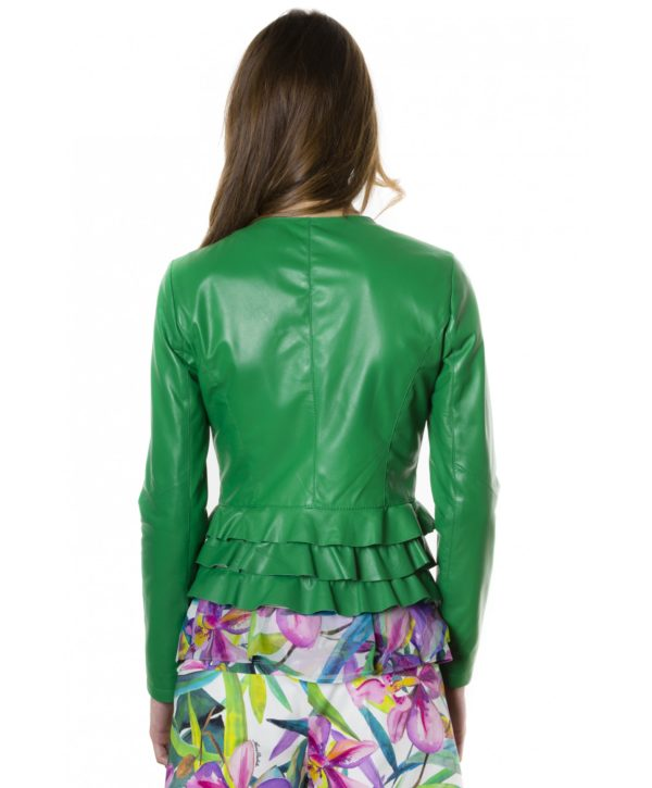 f105bl-green-color-nappa-lamb-leather-jacket-with-flounces (3)