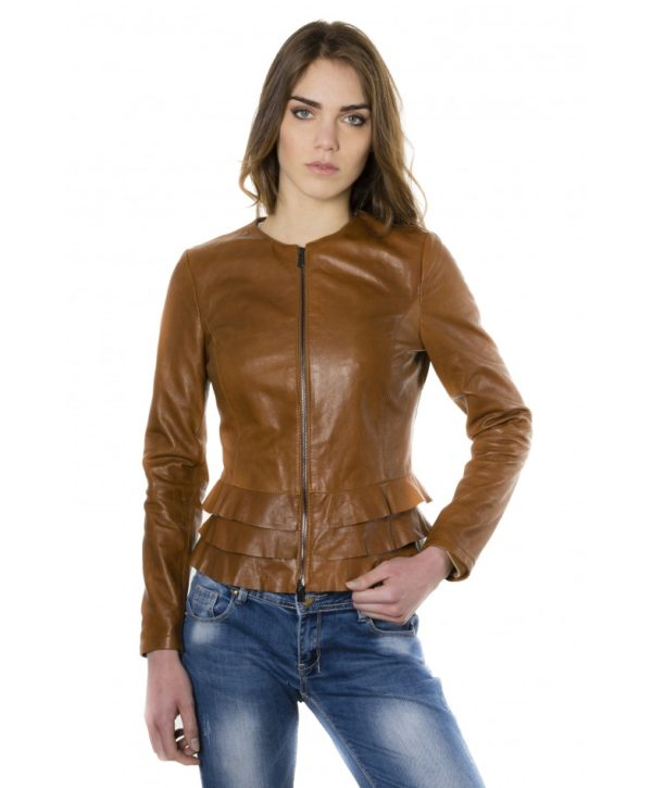 f105bl-tan-color-lamb-leather-jacket-with-flounces