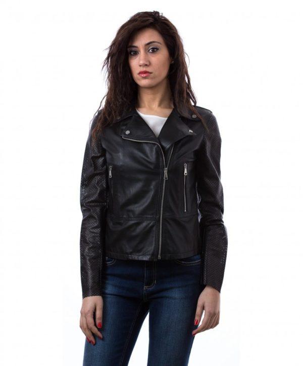 giacca-in-pelle-biker-chiodo-cerniera-trasversale-colore-rosso-