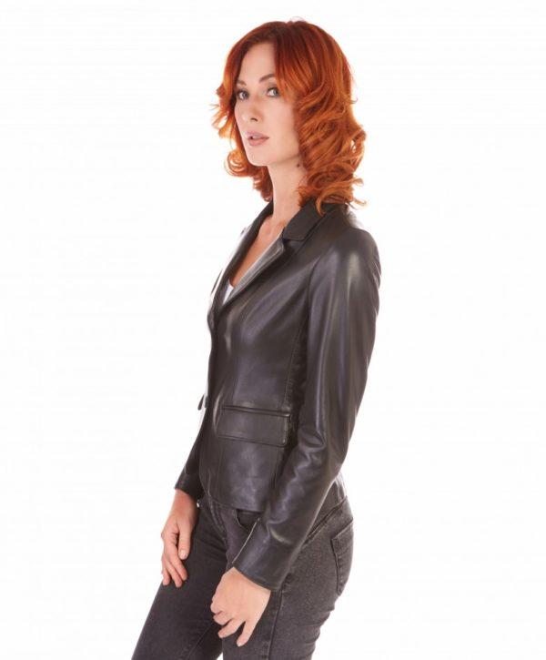 giacca-in-pelle-da-donna-modello-blazer-due-bottoni-colore-nero-blazer (2)