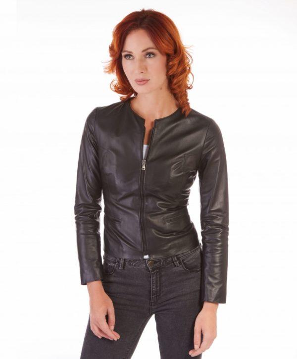giacca-in-pelle-donna-pelle-con-zip-centrale-e-girocollo-nero-clear (3)
