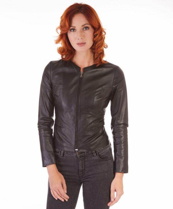 giacca-in-pelle-donna-pelle-con-zip-centrale-e-girocollo-nero-clear (5)