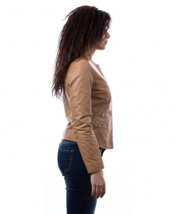 giacchino-corto-in-pelle-donna-girocollo-cuoio-clear-bicolor (2)