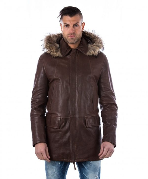 man-leather-coat-fox-fur-hood-black-marco