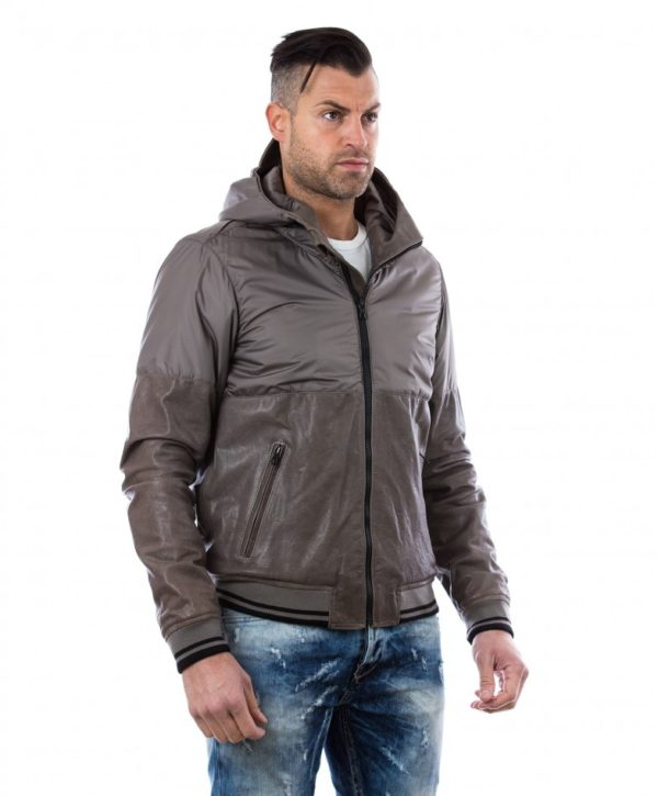 man-leather-down-hooded-jacket-with-hood-grey-pull (2)
