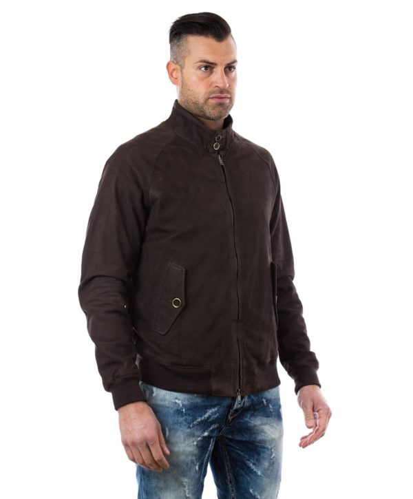 man-leather-jacket-lamb-leather-style-bomber-central-zip-brown-color-br (2)