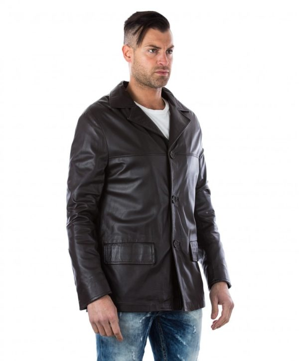 men-s-leather-jacket-genuine-soft-leather-blazer-collar-3-buttons-blue-color-mod-555 (1)