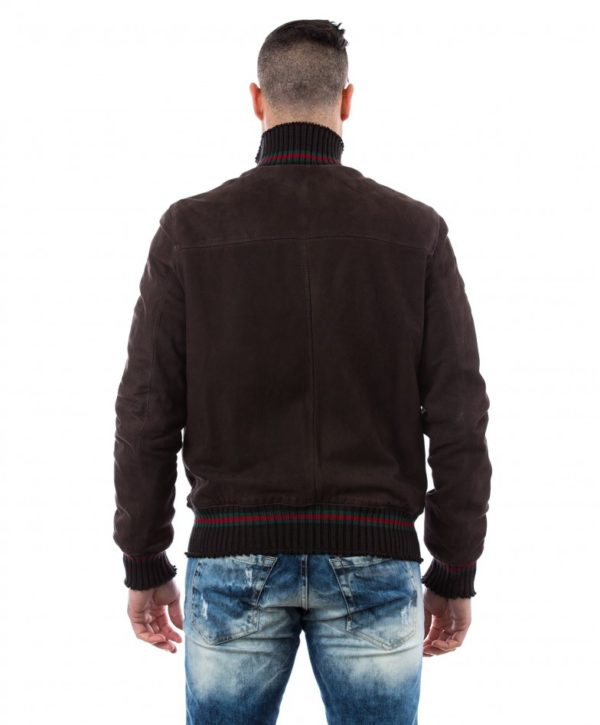 men-s-leather-jacket-genuine-soft-leather-nabuk-style-bomber-wool-cuffs-and-bottom-central-zip-dark-brown-color-mod-vito (4)