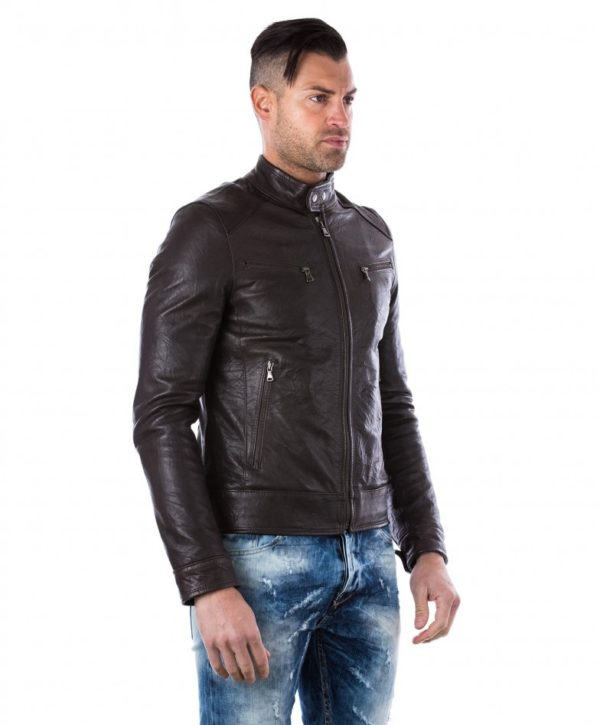 men-s-leather-jacket-genuine-wizened-soft-leather-biker-style-collar-mao-dark-brown-color-hamilton (2)