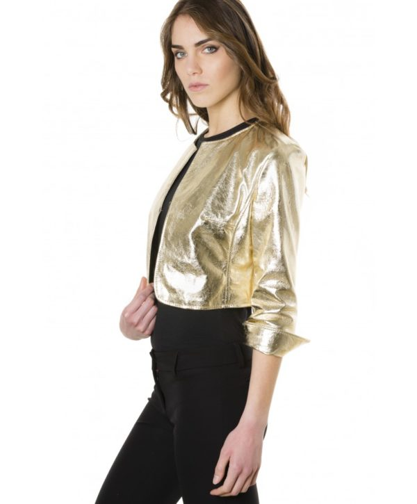 miss-gold-color-laminated-nappa-lamb-leather-round-neck-short-jacket (2)