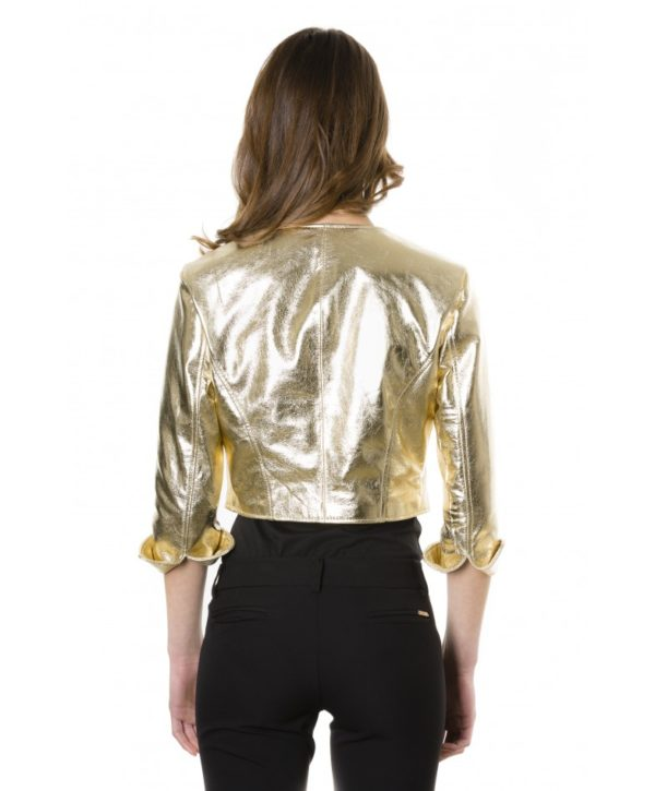 miss-gold-color-laminated-nappa-lamb-leather-round-neck-short-jacket (3)