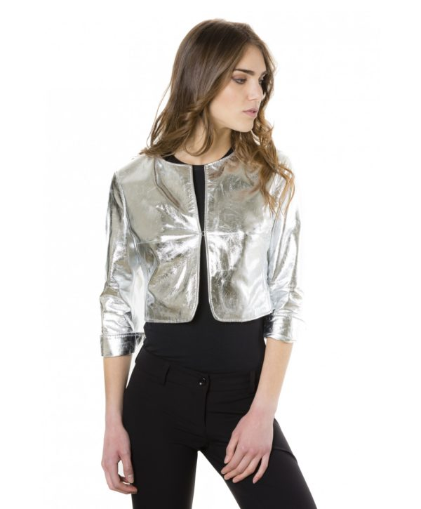 miss-silver-color-laminated-nappa-lamb-leather-round-neck-short-jacket (1)