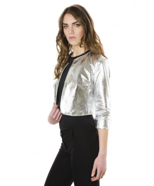 miss-silver-color-laminated-nappa-lamb-leather-round-neck-short-jacket (3)