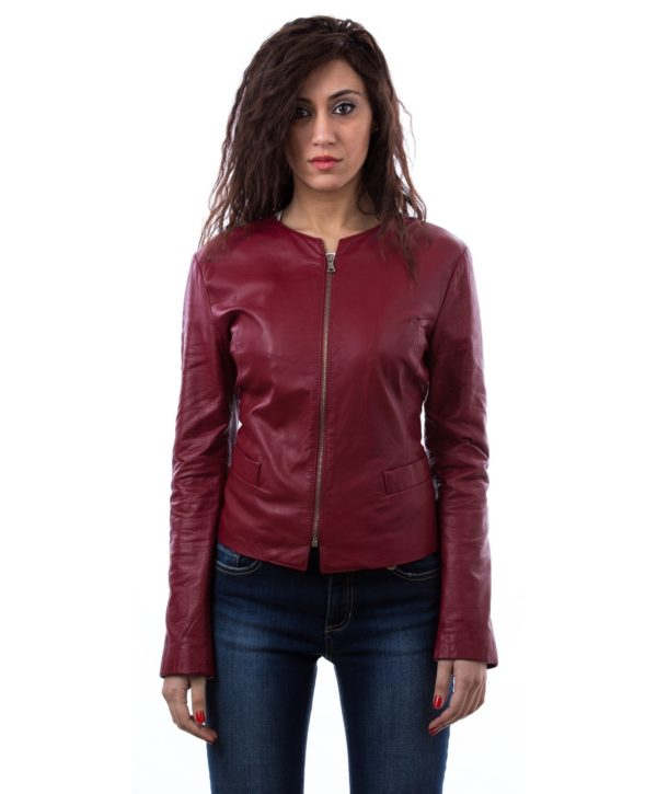 women-s-leather-jacket-in-genuine-soft-leather-and-round-neck-red-clear