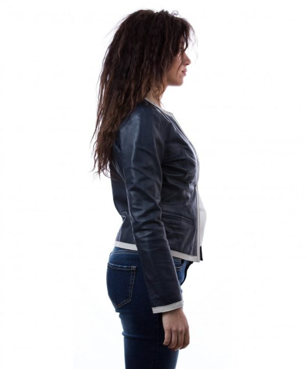 womens-short-leather-jacket-in-genuine-lamb-leather-and-round-neck-blue-clear-bicolor (1)