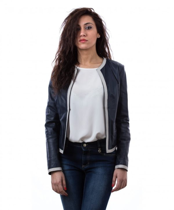 womens-short-leather-jacket-in-genuine-lamb-leather-and-round-neck-blue-clear-bicolor (2)