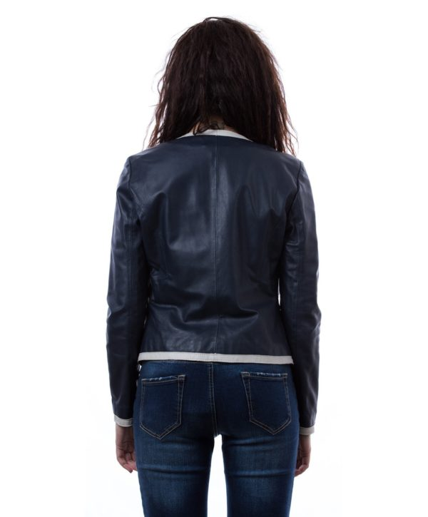 womens-short-leather-jacket-in-genuine-lamb-leather-and-round-neck-blue-clear-bicolor (3)